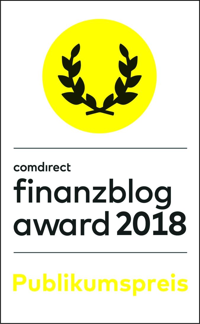 comdirect finanzblog award 2018_Publikumspreis