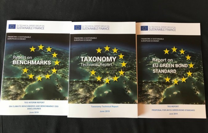 2019-06-18 Sustainable Finance EU TEG interim reports